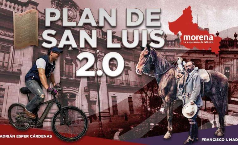 Plan de San Luis 2.0 lanzó Esper