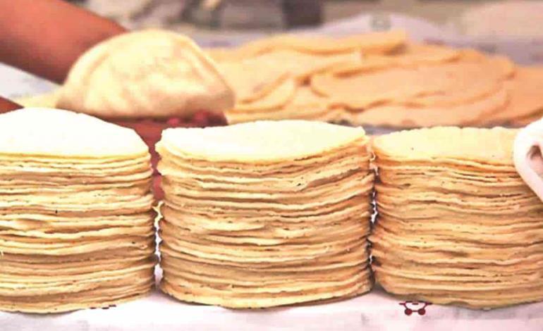 No aumentarán precio a tortillas