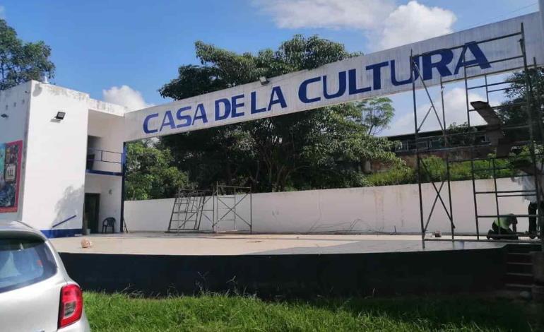En segunda fase la Casa de Cultura