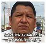 Salvador Azuara Bautista…Cambios en la CNC.