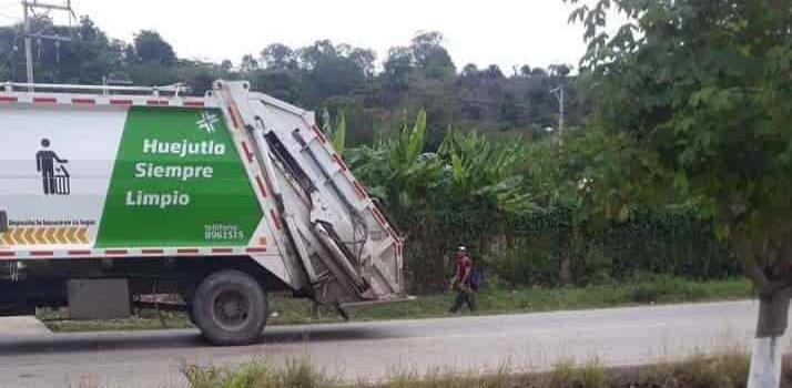 Descarga ilegal de basura