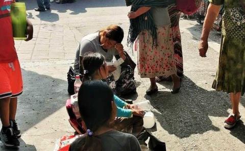 Pedigüeños usan menores de edad