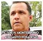 Victor Noé Monterrubio…Adelantó posaditas.