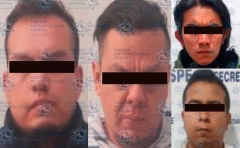 Cuatro sujetos presos por robo a comercios