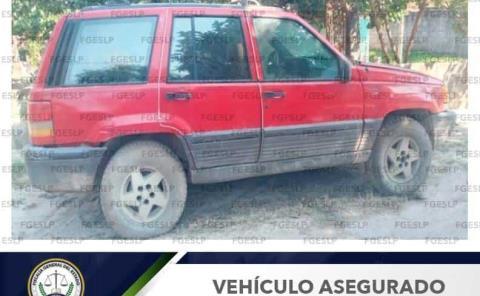 Recuperó la FGE vehículo robado
