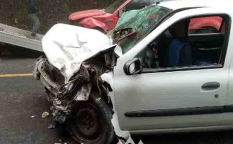 Accidente automovilístico dejó  siete lesionados