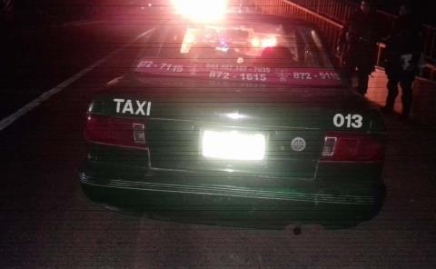 Sujetos intentaron  matar a un taxista