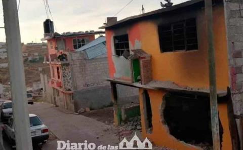 Vecinos incendian casa de supuestos ladrones