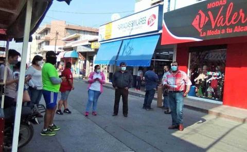 Instalarán bazar en zona Centro